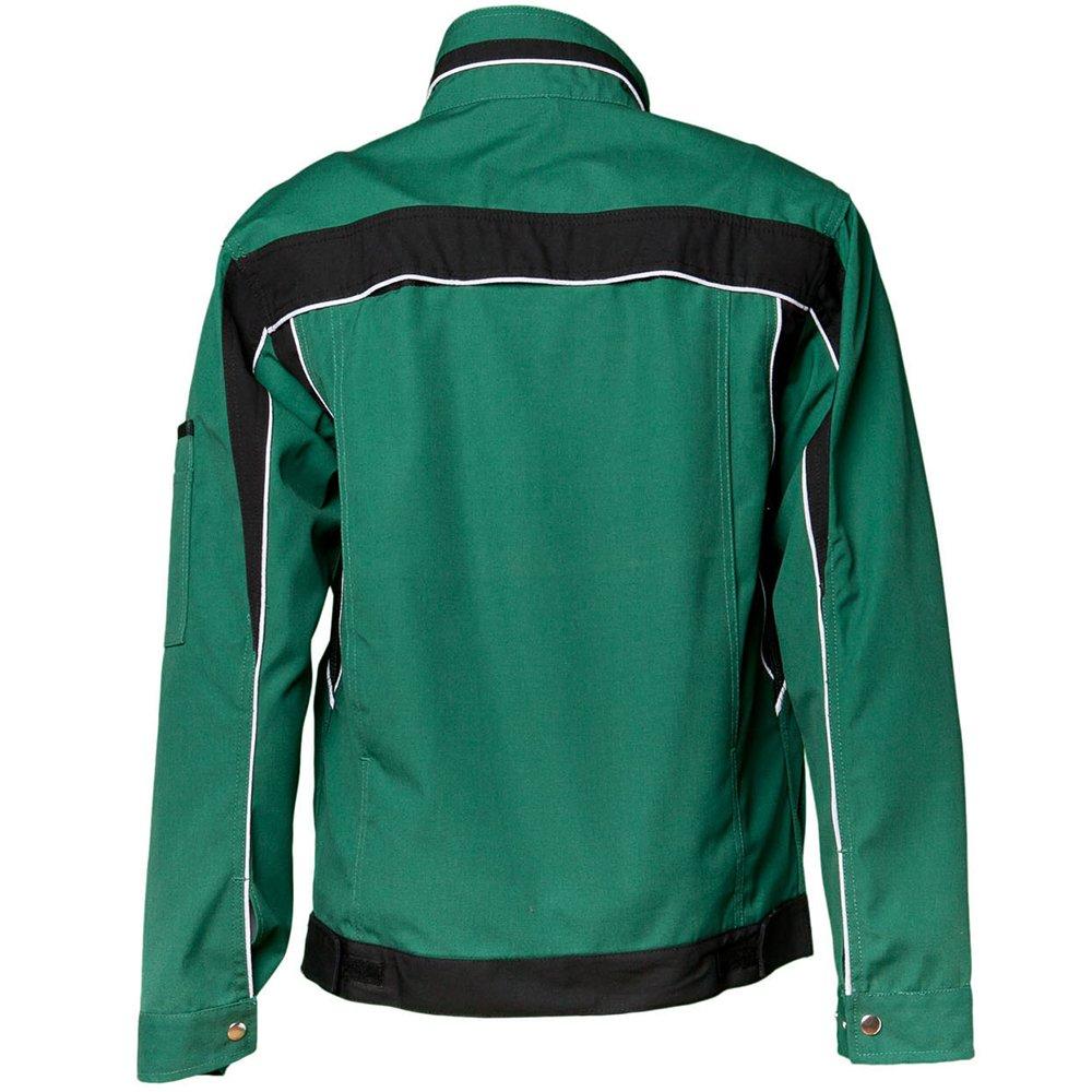 PLANAM Arbeitsjacke Schutzjacke Arbeitskleidung blau grün weiss