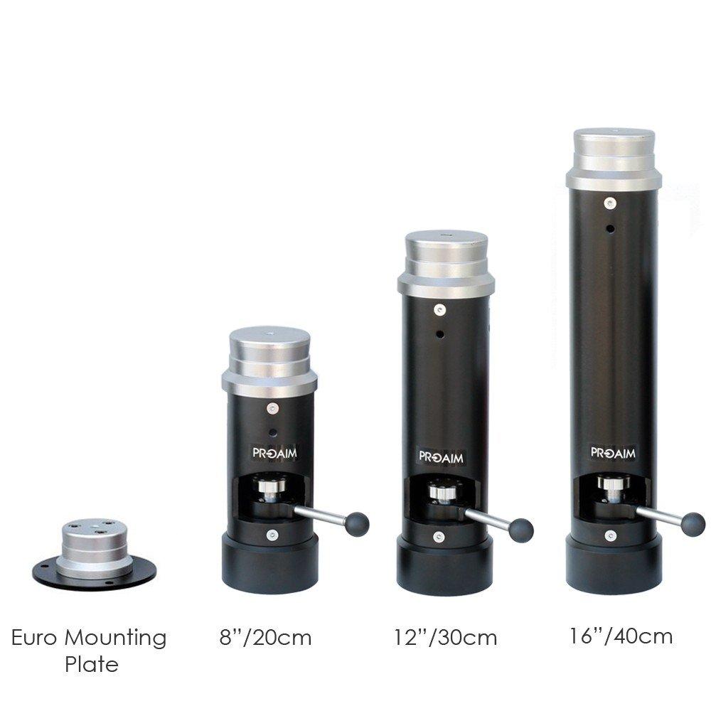 EM-259-00 PROAIM Euro//Elemac Adapter Mounting Plate for Camera Setup up to 200kg//440lb.