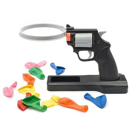 Amazoncom Lucky Balloon Pistol Toy Party Roulette Balloon Gun