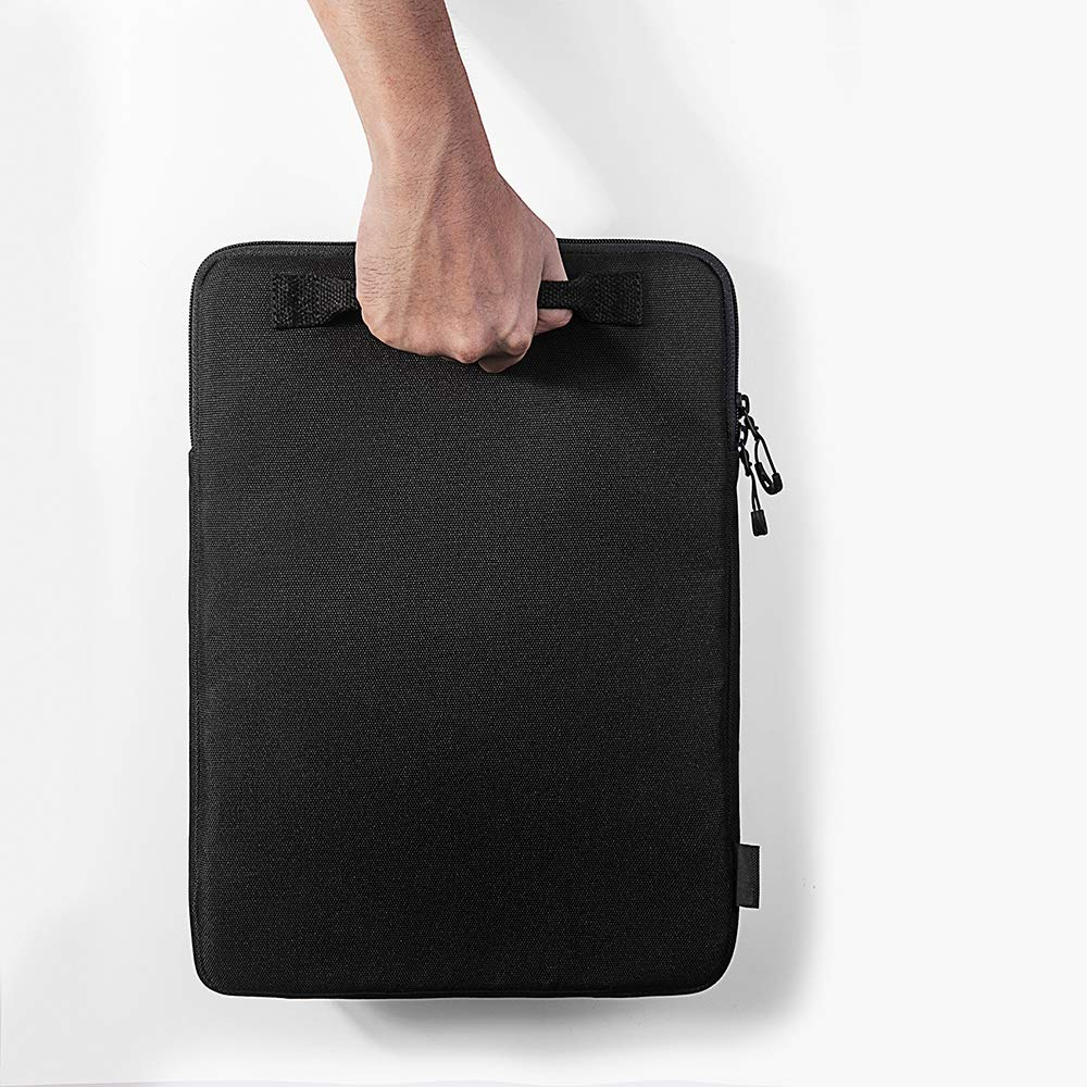 tomtoc 360 Protection Laptop Sleeve Designed for 15 Inch New MacBook Pro with USB-C A1707 A1990, with Handle and Organized Pocket for MacBook Accessories, Cordura Fiber by tomtoc (Image #8)