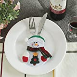 Christmas Decorations Restaurant Hotel Santa Snowman Knife Fork Creative Cutlery Sets Can Be Customized Snowman paragraph