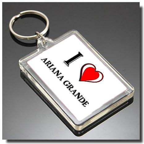I HEART ARIANA GRANDE KEYRING - I LOVE ARIANA GRANDE LLAVERO ...