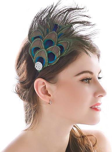 Women Handmade Fascinator Hair Clips Beads Accessory Wedding Church Party Gift