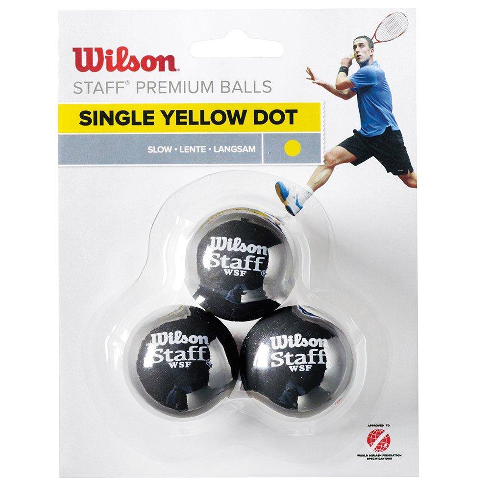 3 Unidades WILSON Pelota de Squash Staff