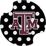 Thirstystone Texas A&M Dots Car Cup Holder Coaster, 2-Pack