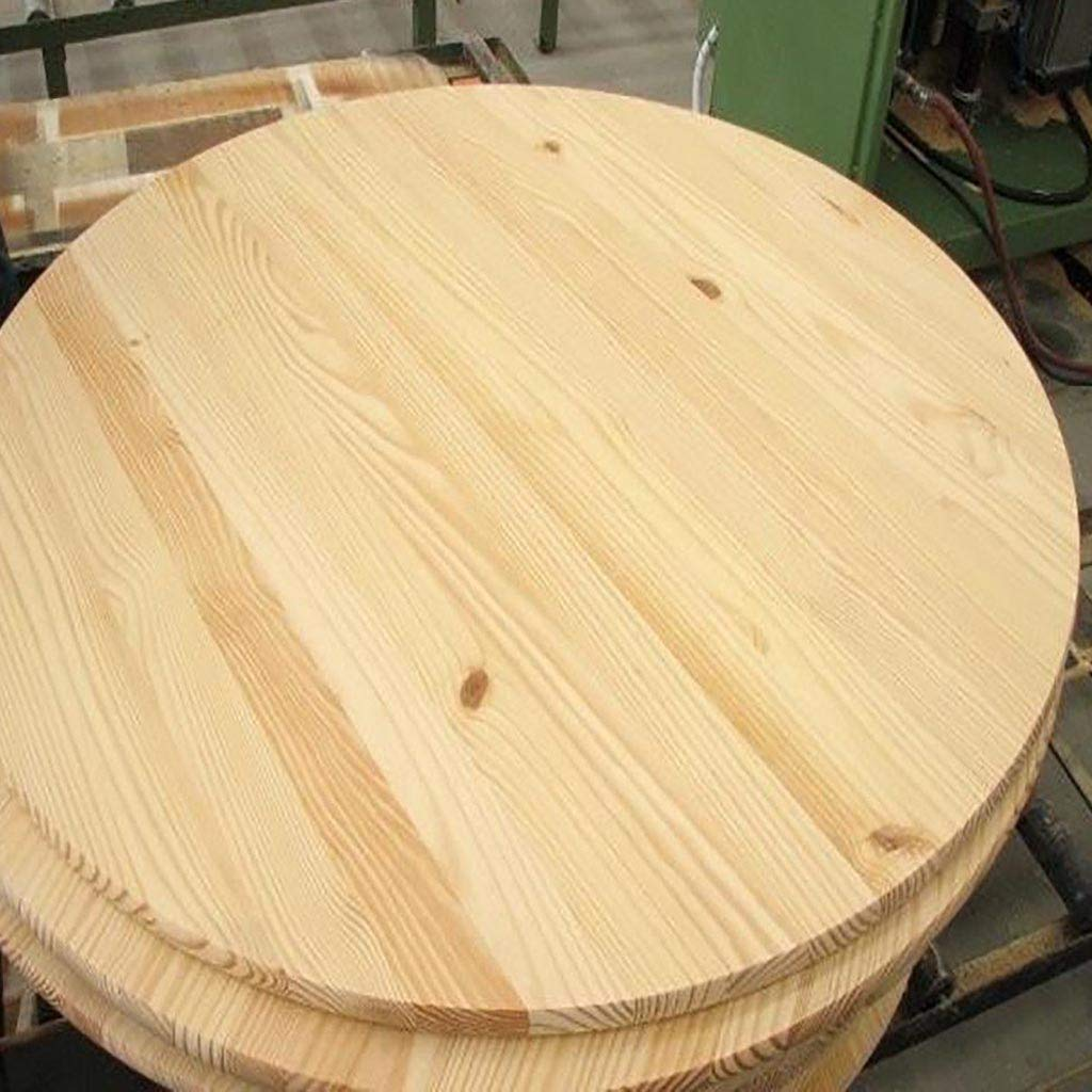Edge Glued Pine Rounds 1x15x15