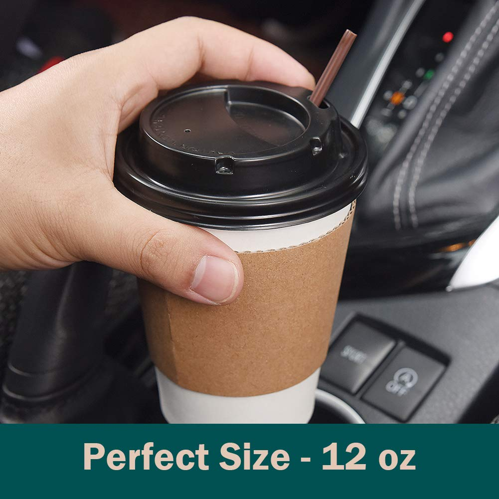 Gotopack Coffee Cups 12OZ 120 Pack Disposable Coffee Cups by Gotopack (Image #5)
