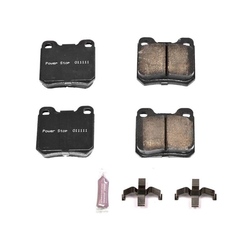 Z23 Evolution Sport Carbon-Fiber Ceramic Rear Brake Pads Power Stop Z23-709