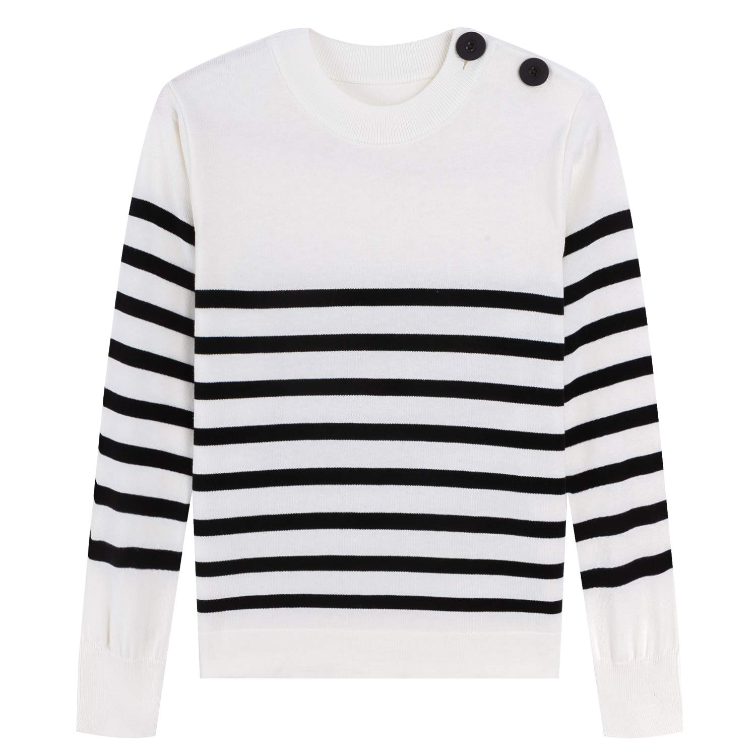 Adory Sweety Sweater for Kids Baby Boy Toddler Soft /&Cute Crew Neck Stripe Long Sleeve Pullover