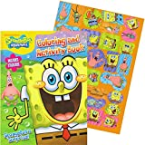 SpongeBob Giant Coloring Book with Stickers (144 Pages)
