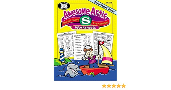 Awesome Artic® Fun Sheets: Sound Loaded Articulation Sheets for S ...