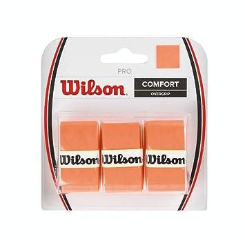 Wilson Pro OR - Overgrip, Color Naranja, Talla única: Amazon.es ...
