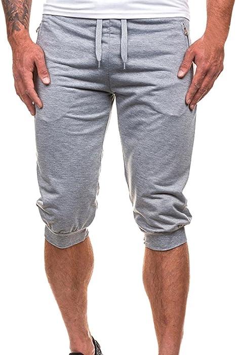 Pantalones Hombre,LMMVPHombres Casuales Jogging Dance Ropa ...