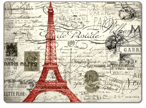 CounterArt Vintage Paris Hardboard Placemat