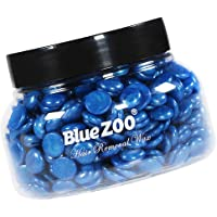 F Fityle 150g Hard Wax Beans Hot Wax Beads for Facial Body Bikini Hair Removal At Home or Spa Salon Waxing - Blue
