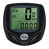 StillCool Bicycle Speedometer and Odometer Wireless Waterproof Bike Computer with LCD Display and Automatic Cycle Function