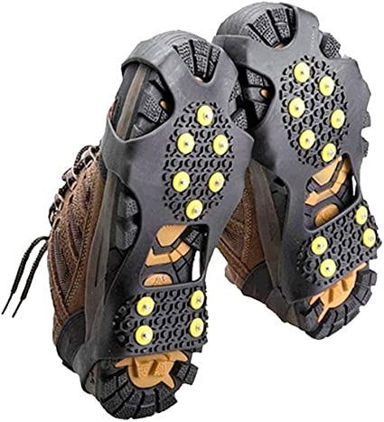 Anti-Slip Ice Shoes Spike Grips Cleats Winter Outdoor Snow Shoes Covers Crampons