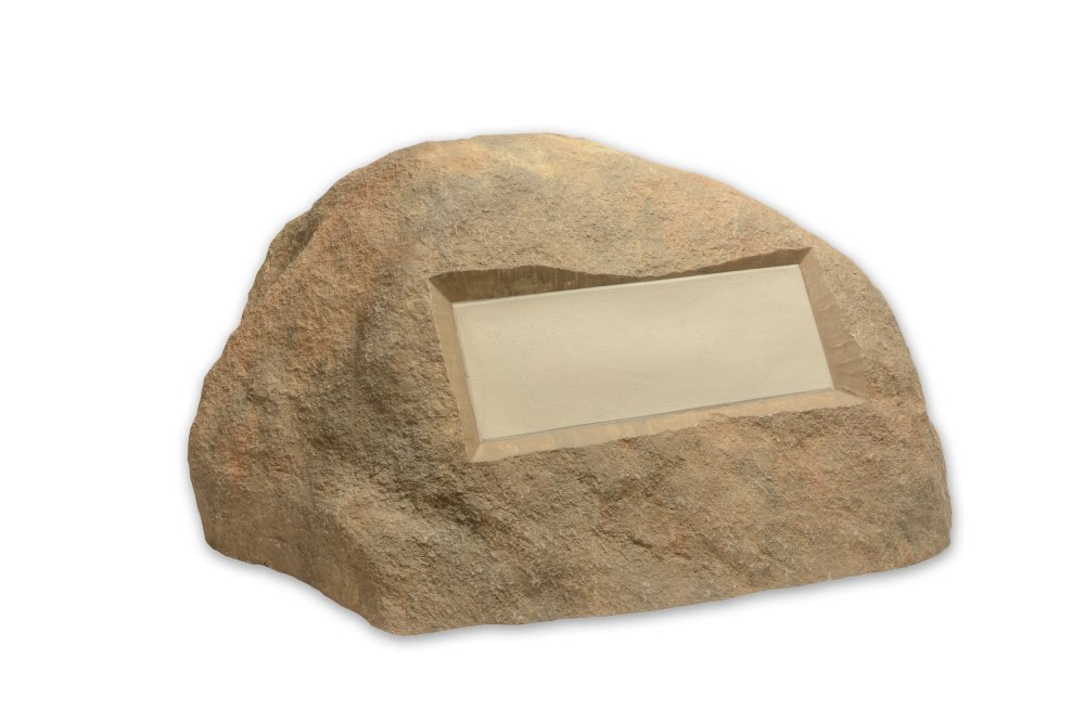Outdoor Essentials Faux Address Rock, Tan by Outdoor Essentials