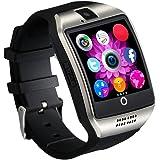 Reloj Inteligente [Nueva Versión], CHEREEKI Smartwatch Android [1.54'' Pantalla Curva] Bluetooth Smart Watch con Cámara/Podómetro/Monitor de Sueño/Notificación de Whatsapp Compatible con Android