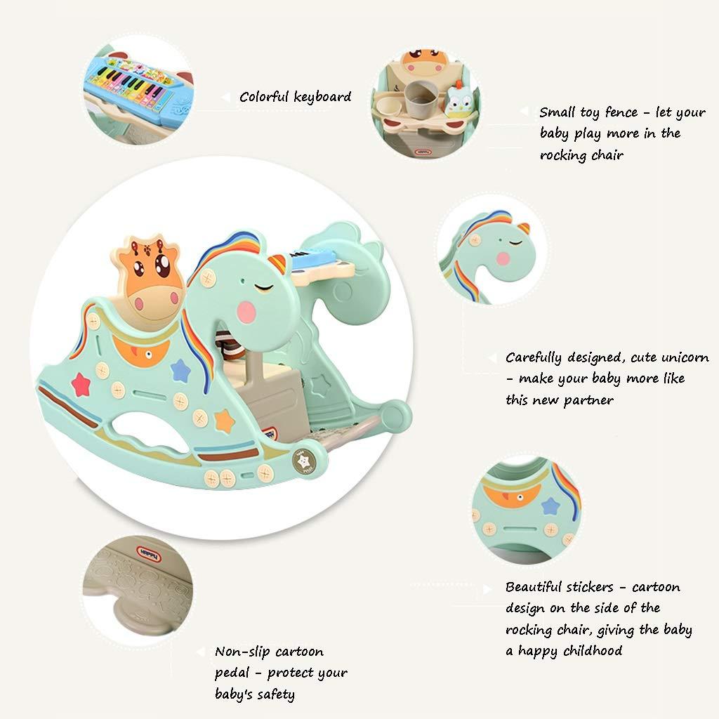 b370894b7 ... Sillas mecedoras Mecedora bebés Asiento para niños Juguete de Madera  Madera Madera para Caballos balancín de ...
