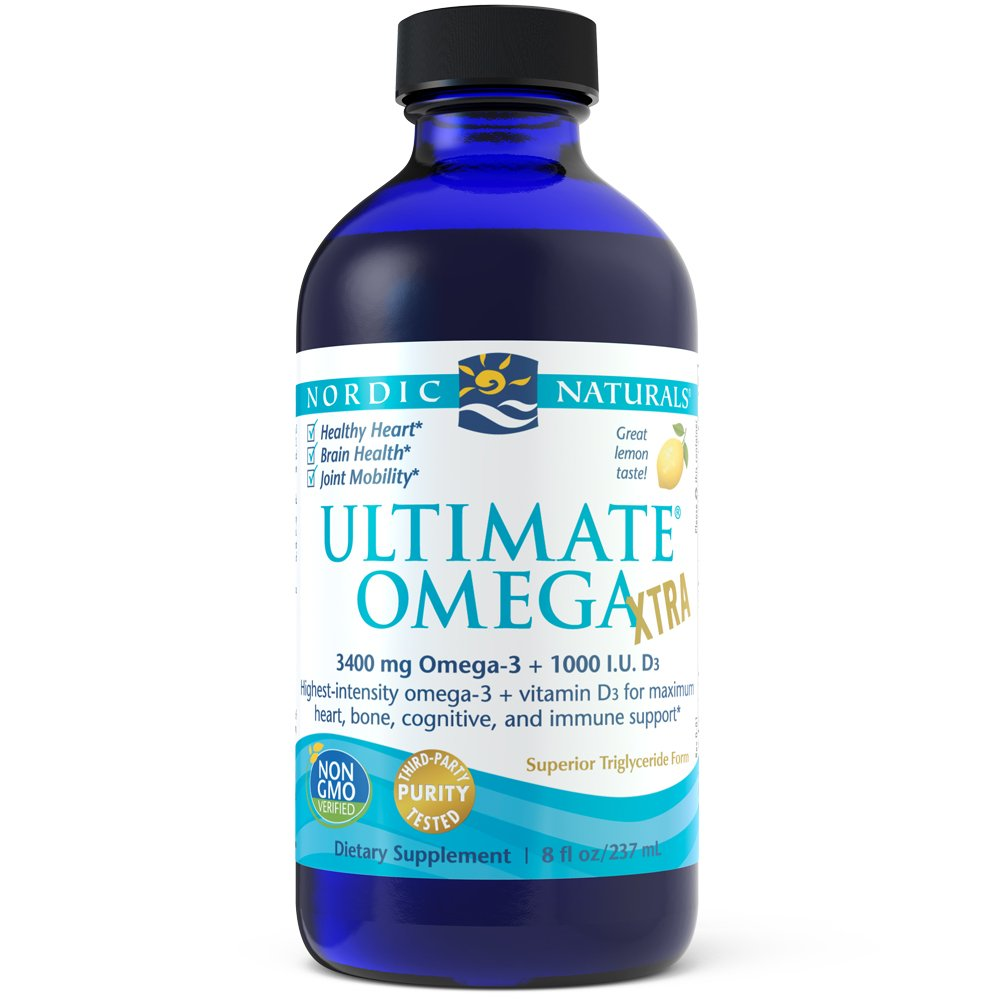 Nordic Naturals - Ultimate Omega Xtra, Support for a Healthy Heart, 8 Ounces by Nordic Naturals