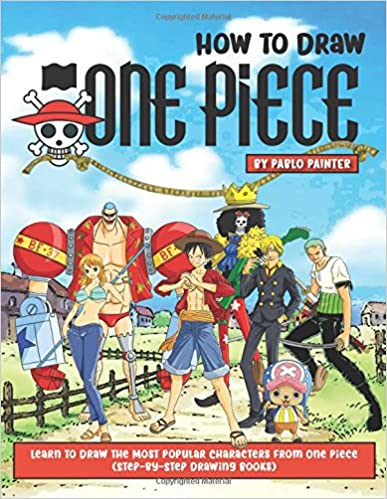 Amazon Com How To Draw One Piece Learn To Draw The Most Popular