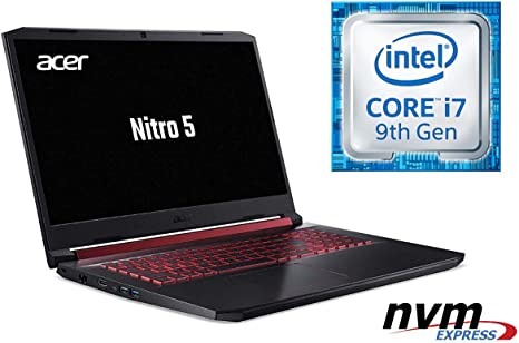 Portátil Nitro 5 AN517 – Core i7-9750H – 16 GB DDR4-RAM – 256 GB ...