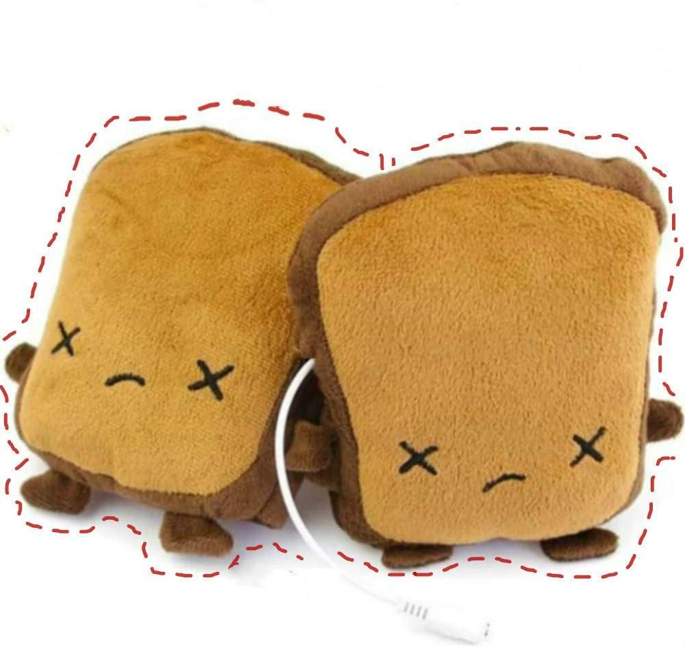 1pair 5V winter warm gloves usb powered heated pads hand warmer 8*18cm pads*JB