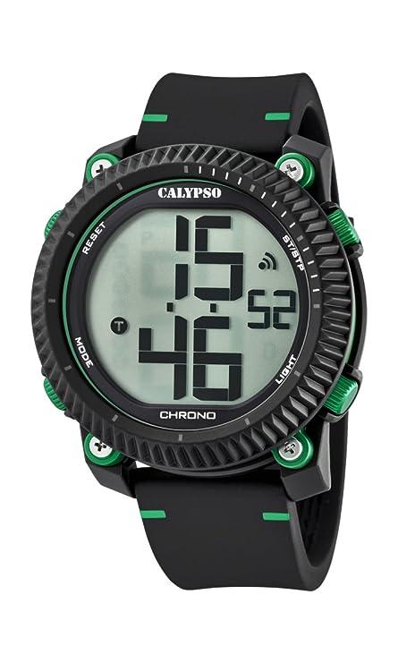 Calypso Reloj Digital para Hombre de Cuarzo con Correa en Plástico K5731/4: Amazon.es: Relojes