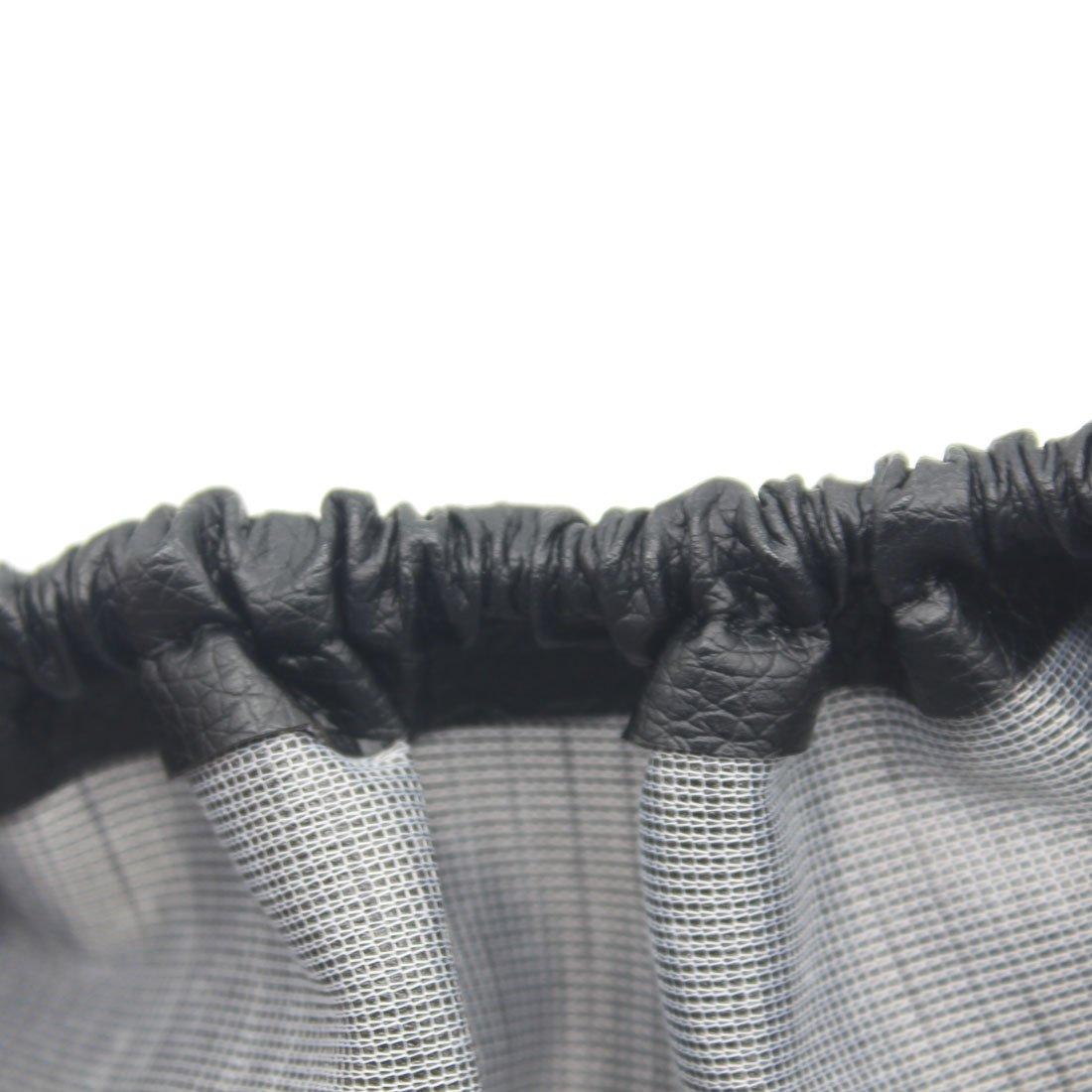 Negro cubierta rueda de repuesto neum/ático para coche de piel sint/ética remolque pantalla