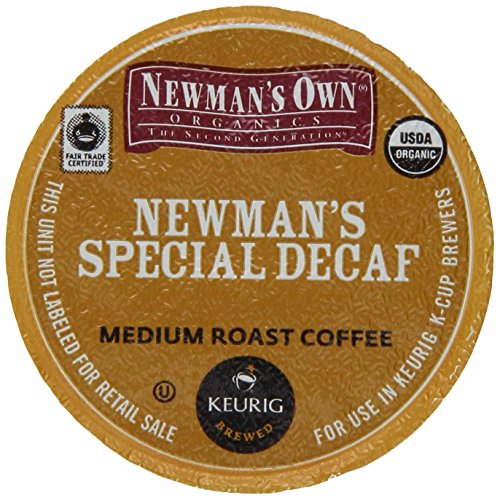 Green Mountain Coffee Newman's Specific Decaf K-Cup Portion Pack for Keurig K-Cup Brewers, Certified Organic (Pack of 96)