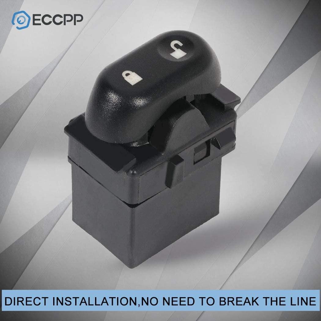 ECCPP Power Window Switch Door Lock Switch Front Drivers Side Fits for 2003-08 Ford Crown Victoria 2003-08 Mercury Grand Marquis 2003-04 Mercury Marauder