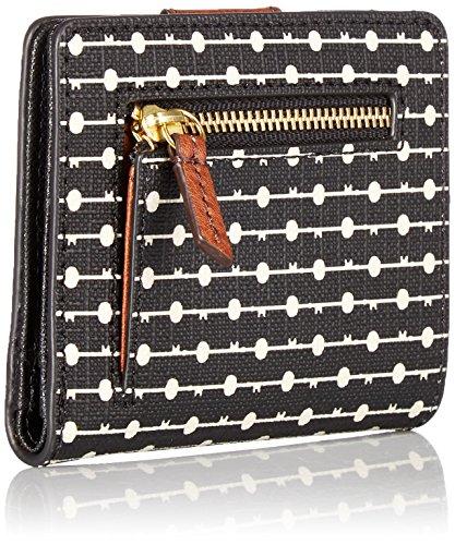 Wallet Mini Rfid Black Emma Fossil Stripe Hx7WwBtPqt