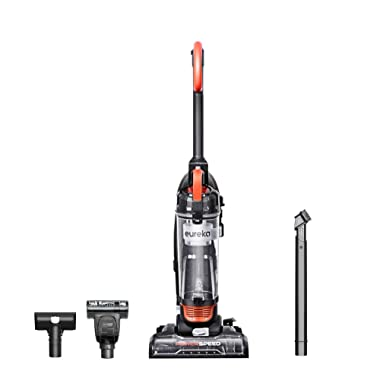 Eureka Power Speed NEU188A PowerSpeed Turbo Spotlight Lightweight Upright Vacuum Cleaner for Carpet and Hard Floor, Orange