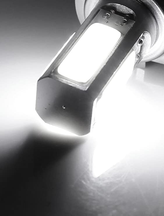 Amazon.com: eDealMax H7 Bombillas COB Blanca niebla del coche de la lámpara de luz Diurna: Automotive