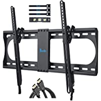 Rentliv Tilting TV Wall Mount Bracket for Most 37-70 Inches TV, TV Mount with MAX VESA 600x400mm, Loading Capacity up to…