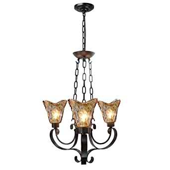 Laluz traditional chandeliers 3 light pendant lighting glass ceiling laluz traditional chandeliers 3 light pendant lighting glass ceiling lights aloadofball Choice Image