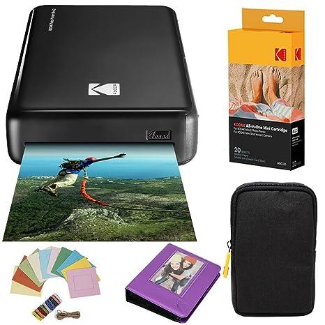 Amazon.com: Kodak Mini2 - Impresora instantánea (20 hojas) + ...