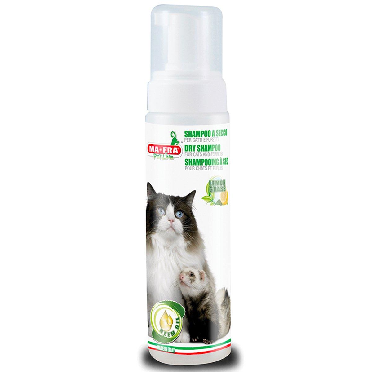 AMICO MIO seco Champú para Gatos y Animales con Neen Aceite: Amazon.es: Productos para mascotas