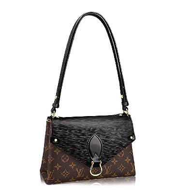 4ac2e22729b7 Louis Vuitton Monogram Canvas Epi Leather Shoulder Handbag Noir Saint Michel  Article  M44030  Handbags  Amazon.com