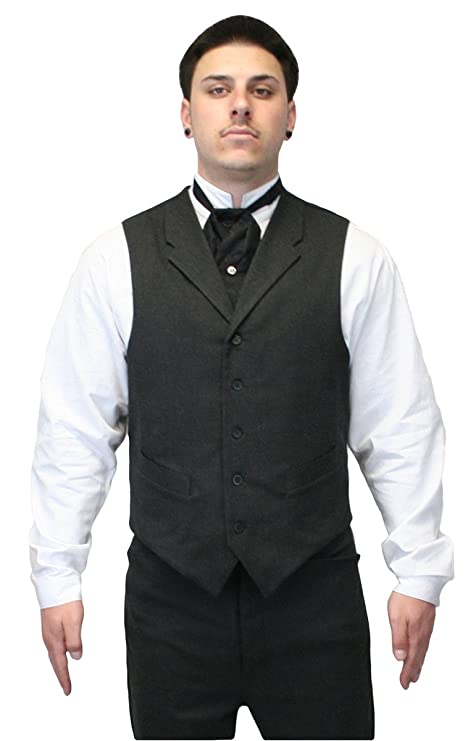 1920s Style Mens Vests Historical Emporium Mens Callahan Cotton Blend Dress Vest $64.95 AT vintagedancer.com