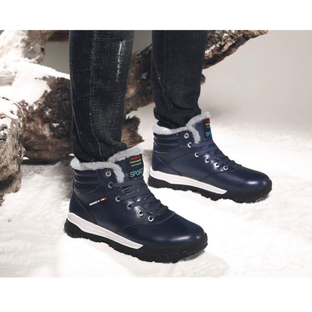 Stivali da Neve Autunno in in in Finta Pelle Inverno Uomo stivali Caviglia Scarpe Grandi Dimensioni  5-12,5 5cf9c7
