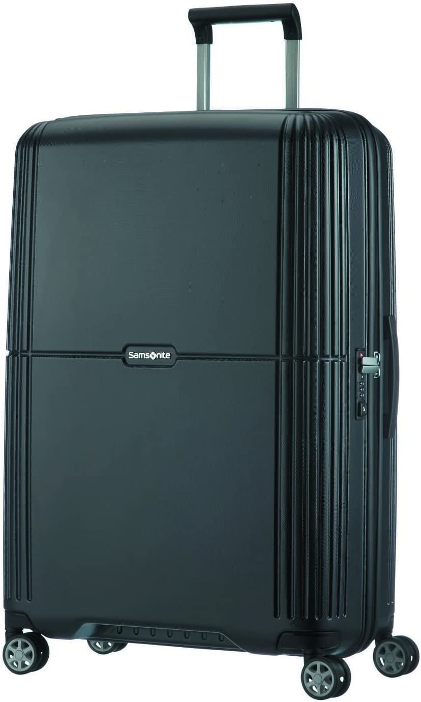 SAMSONITE Orfeo - Spinner 75/28 Equipaje de Mano, 75 cm, 96 Liters, Negro (Ink Black)
