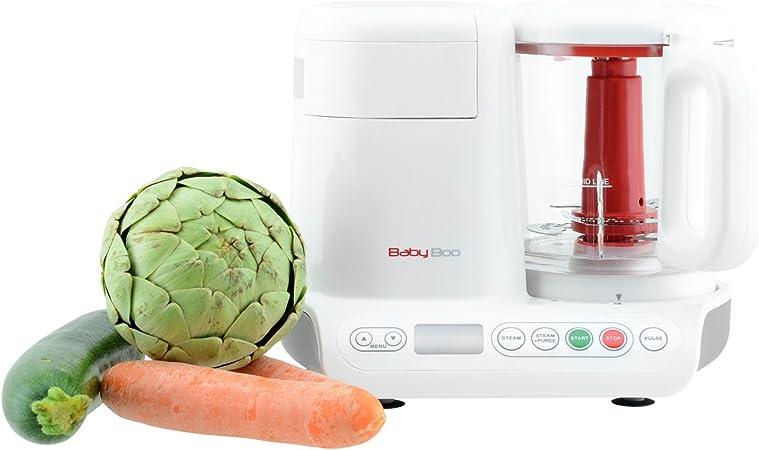 H.Koenig Robot de Cocina para Bebés 2 en 1, Cocción al Vapor y ...