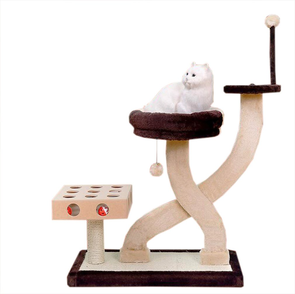 Cat Nap Tree Scratching Post Furniture Puzzle Game for Puppies