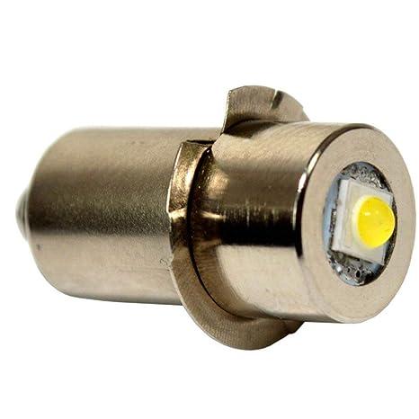 Hqrp High Power Upgrade Bulb 3w Led 100lm 7 30v For Ryobi Ridgid