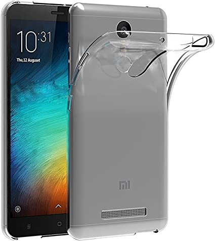 ivoler Funda Carcasa Gel Transparente para Xiaomi Redmi Note 3 ...