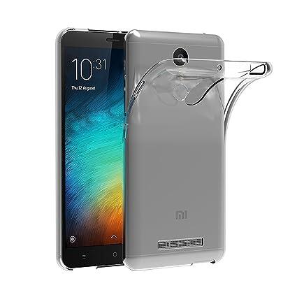 iVoler Funda Carcasa Gel Transparente para Xiaomi Redmi Note 3 / Xiaomi Redmi Note 3 Pro, Ultra Fina 0,33mm, Silicona TPU de Alta Resistencia y ...