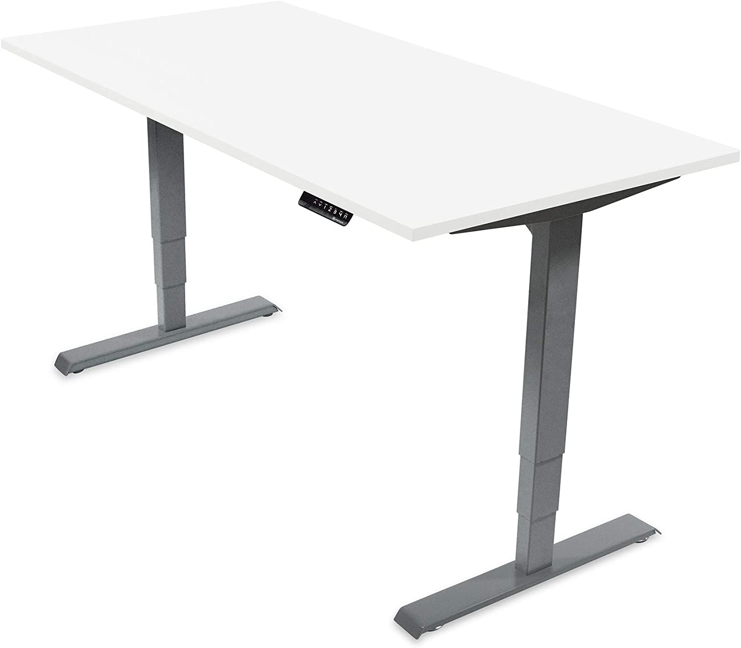 Ergotopia® Electric height adjustable Desk, Ergonomic Sit and Stand Desk with Memory Function, Prevents Back Pain & Boosts Productivity