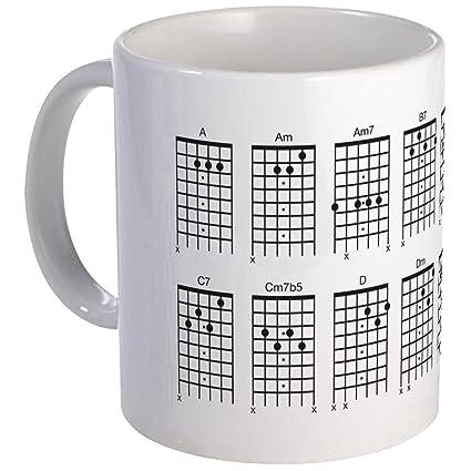 Amazon Cafepress Guitar Chords Coffee Mug Unique Coffee